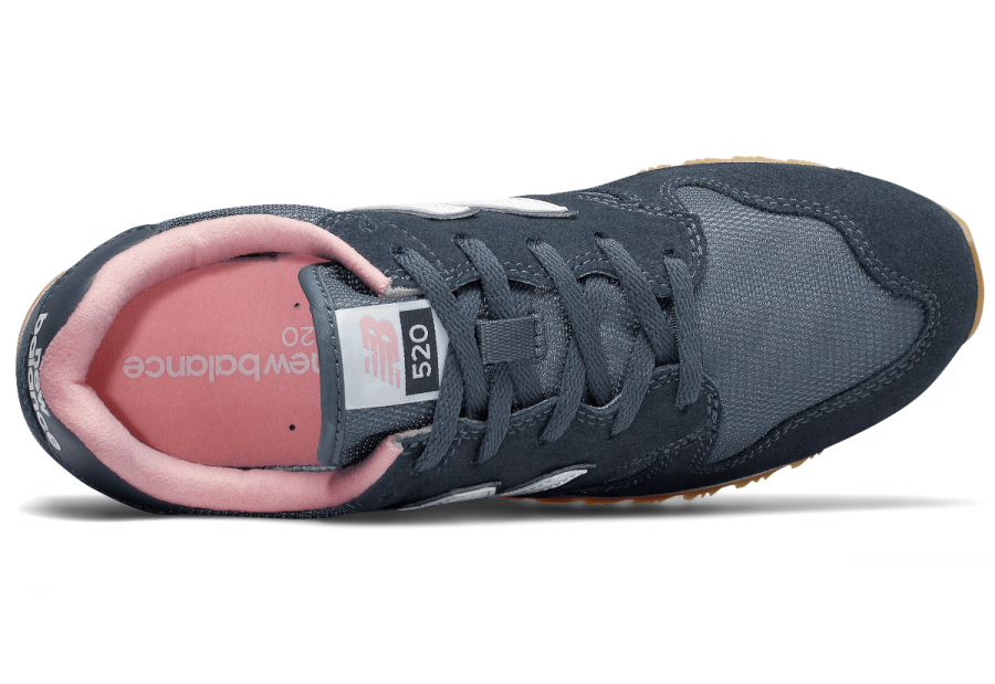 en soldes 4e561 7354f New Balance 520 Womens Running Sports Casual Trainer Shoes Navy Pink